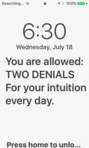 Discipline is Purpose Phone Reminder