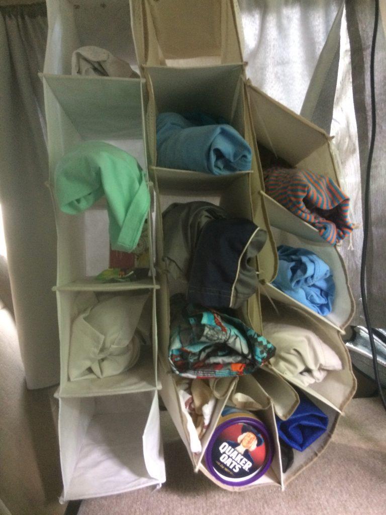 Car Camper cloth shoe dressor